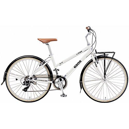 GIOS(ジオス) クロスバイク LIEBE WHITE 26インチ B076BHDBSR