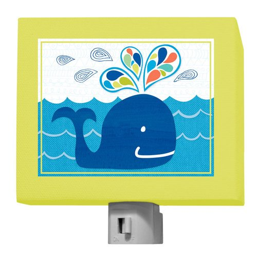 "Oopsy Daisy Night Light, Whale Of A Good Time, 5"" x 4"""