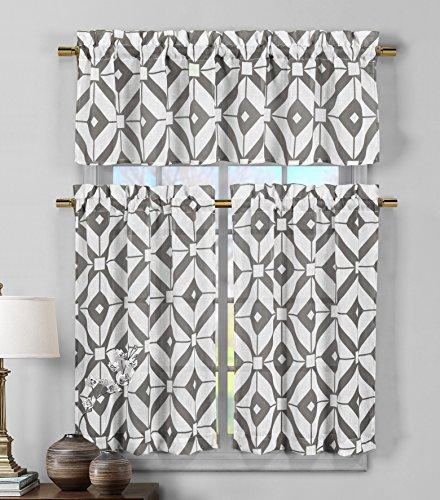 Duck River Textiles  - Mckenna Printed Geometric Linen Textu
