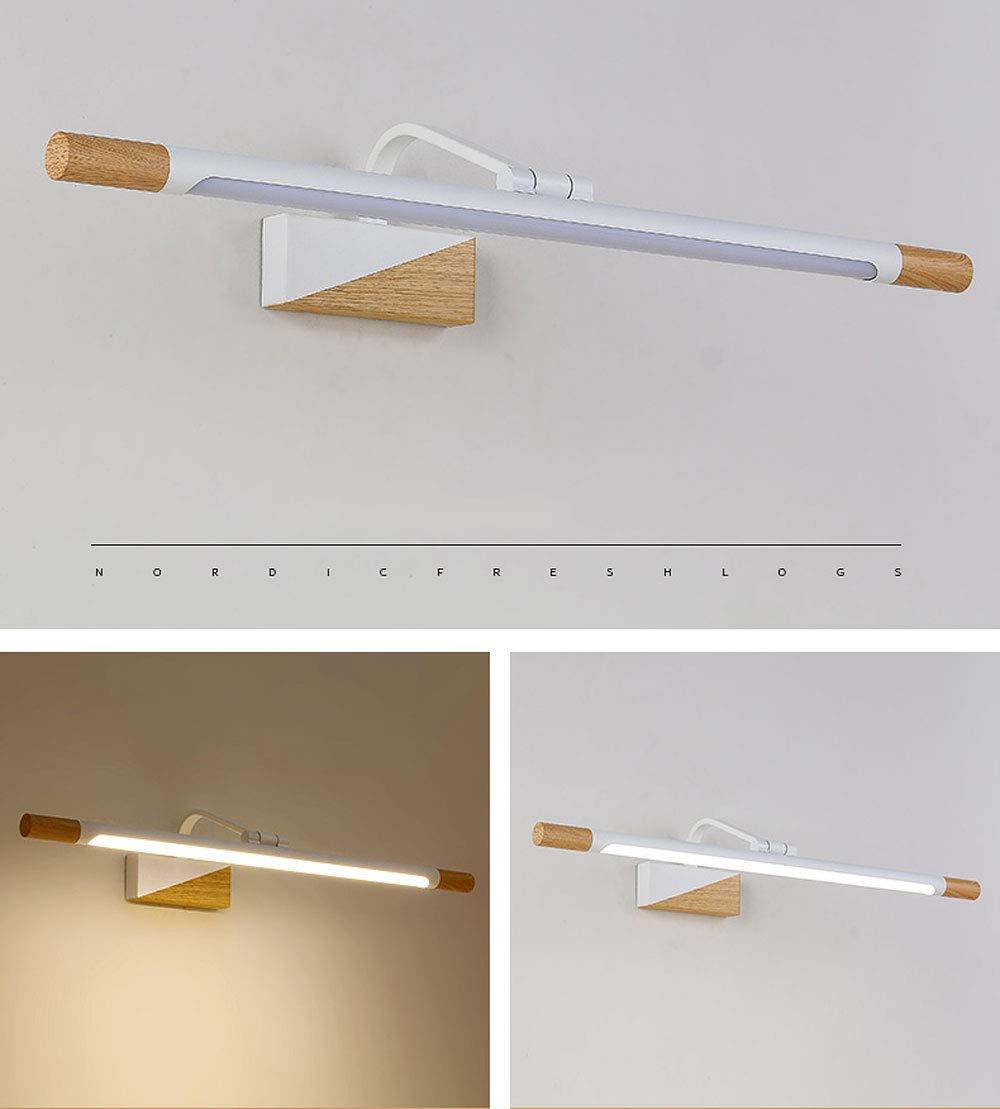 Amazon.com: Mirror Headlamp Nordic Toilet Mirror Cabinet Led ...