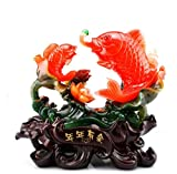 GL&G Lucky fish auspicious Decorations Home Marriage room Decoration living room Tabletop Scenes Ornaments Keepsakes Crafts High-end Business gift,331831CM