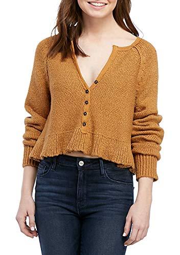 Free People Sweetheart Sweater Henley