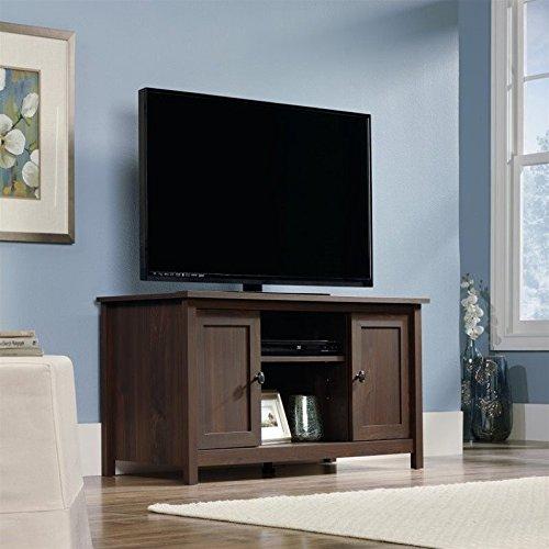 Sauder 416923 Rum Walnut Finish County Line TV Stand by Sauder