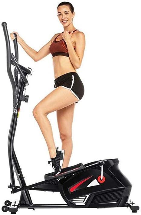 AINY Equipo De La Aptitud 2-En-1 Elíptica De La Bicicleta Estática-Fitness Cardio Pérdida De Peso Entrenamiento Máquina-con Asiento Tasa Sensores Bicicleta Elíptica-Pequeño, Robusto Y Compacto: Amazon.es: Deportes y aire libre