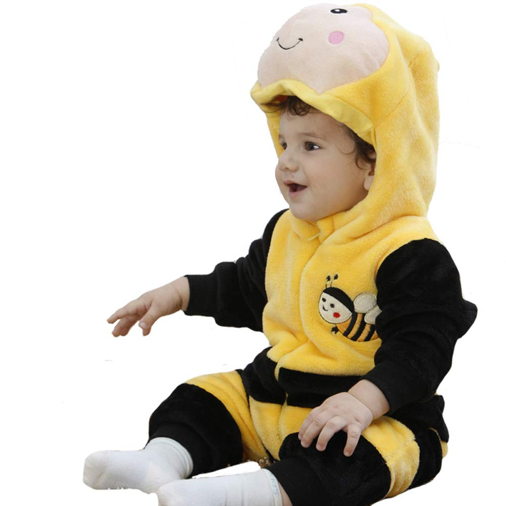 Tonwhar Unisex-Baby Animal Onesie Costume Cartoon Outfit Homewear