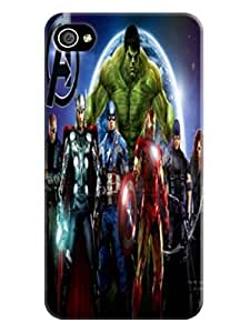 High quality fashionable Popular Marvel Comics Avengers waterproof TPU phone case/cover/shell/shield for iphone 4/4s