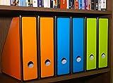Simple Houseware Magazine File Holder Organizer Box (Pack of 12)