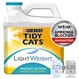 Tidy Cats Instant Action Lightweight Cat Litter for Multiple Cats - 2.72 kg