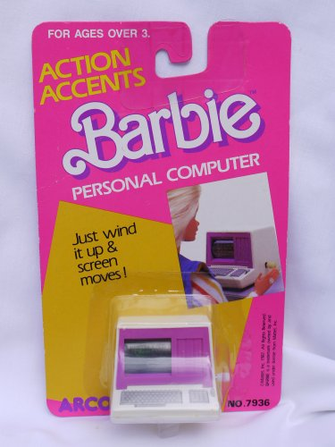 Picture of an Action Accents Barbie Personal Computer 26676079362
