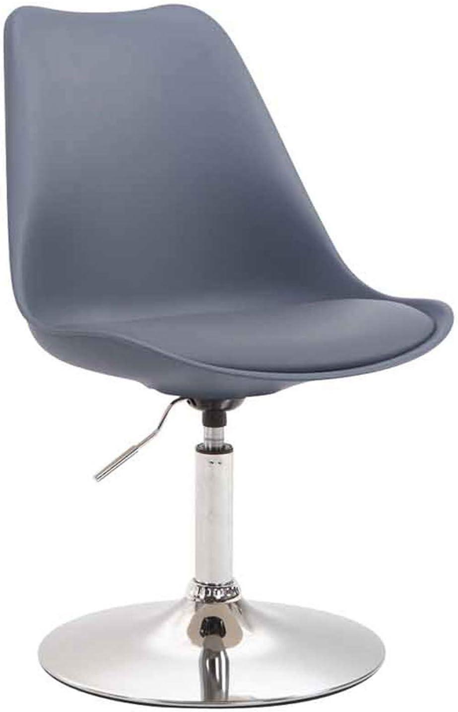 Chaise Design Retro Hauteur Réglable Fauteuil Confortable