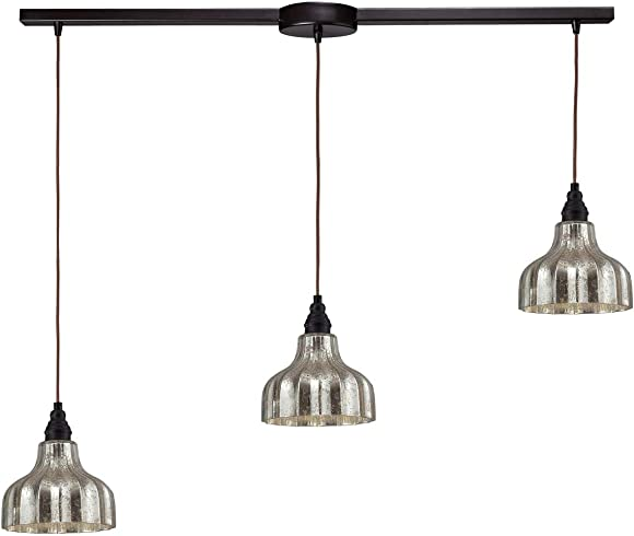 Diamond Lighting 46008/3L Elk Lighting Danica 3-Light Pendant