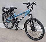 EG Milan Electric Bicycle Blue
