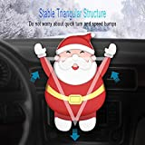 Christmas Santa Claus Gravity Car Phone Mount, Cute