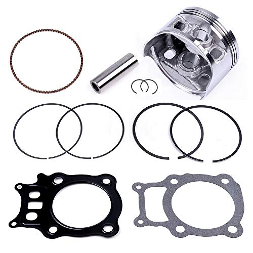 SCITOO Cylinder Piston Ring Set Replacement for Honda Rancher 350 TRX350 2000-2006 Engine Piston Gasket Kit