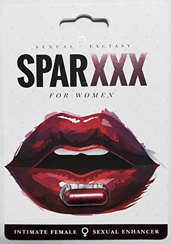 Sexy Lady AND SparXXX Best Female  (Super Combo)Sexual Libido Arousal Enhancement   6 Pack PLUS LOVE POTION PEN by United States (Image #1)
