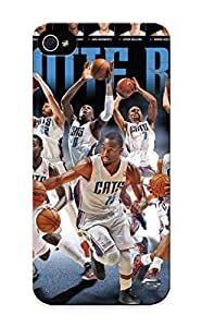 Blackducks Case For Ipod Touch 4 CoverRetailer Packaging Charloe Bobcats Nba Basketball (20) Protective Case