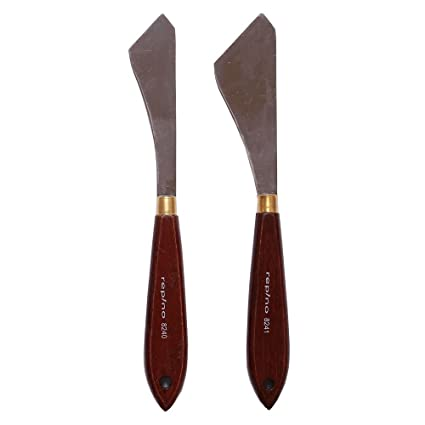 Amazon.com: repino Pintura cuchillo Set de 2: Arte ...