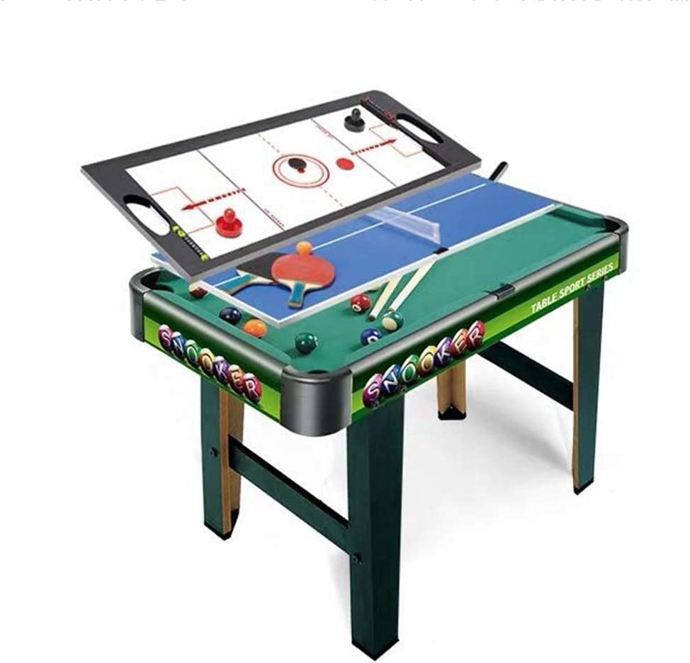 YGO Multi Game Combination Table Set Indoor Game Table 3 in 1 Entertainment Table 32