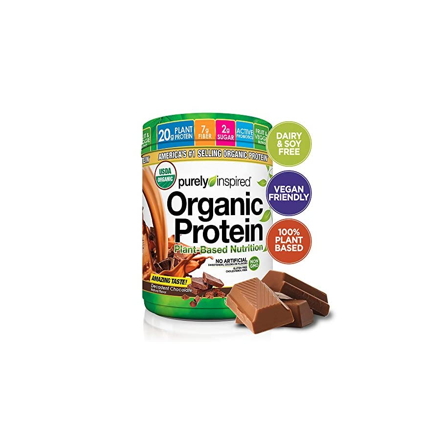 Purely Inspired Organic Protein Powder, 100% Plant Based Healthy Protein