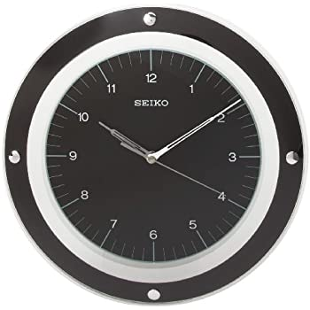 seiko wall clocks india online this item quiet sweep second hand clock curved glass crystal price philippines