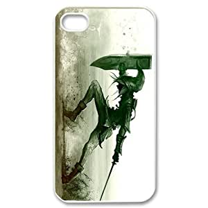 Legend of Zelda Iphone 4 4S Case Triforce White Sides Cases Cover at abcabcbig store
