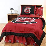 South Carolina Bed in a Bag Full - With White Sheets by College Covers