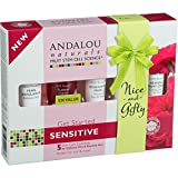 4 Pack of Andalou Naturals Get Started Kit - 1000 Roses - 5 Pieces - Gluten Free - - Vegan