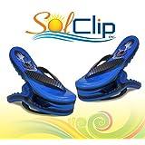 Towel clips, pegs, clamps, épingles, pinces à serviette de plage, SolClip, Canada, Flip Flop Skull