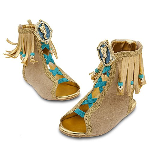 Disney Store Princess Pocahontas Halloween Costume Shoes/Sandals: Size 2/3]()