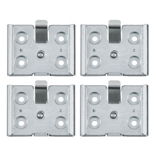 - Reliable Hardware Company RH-9007-4-A Small Removable Caster Plate - Set of 4