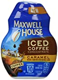 Maxwell House Iced Coffee Concentrate, Caramel, 1.62 Ounce