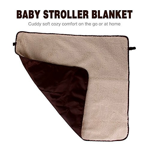 HILTOW Baby Comfort Stroller Weather Shield/Waterproof Stroller Warm Blanket Cover fit winter by Hiltow (Image #4)