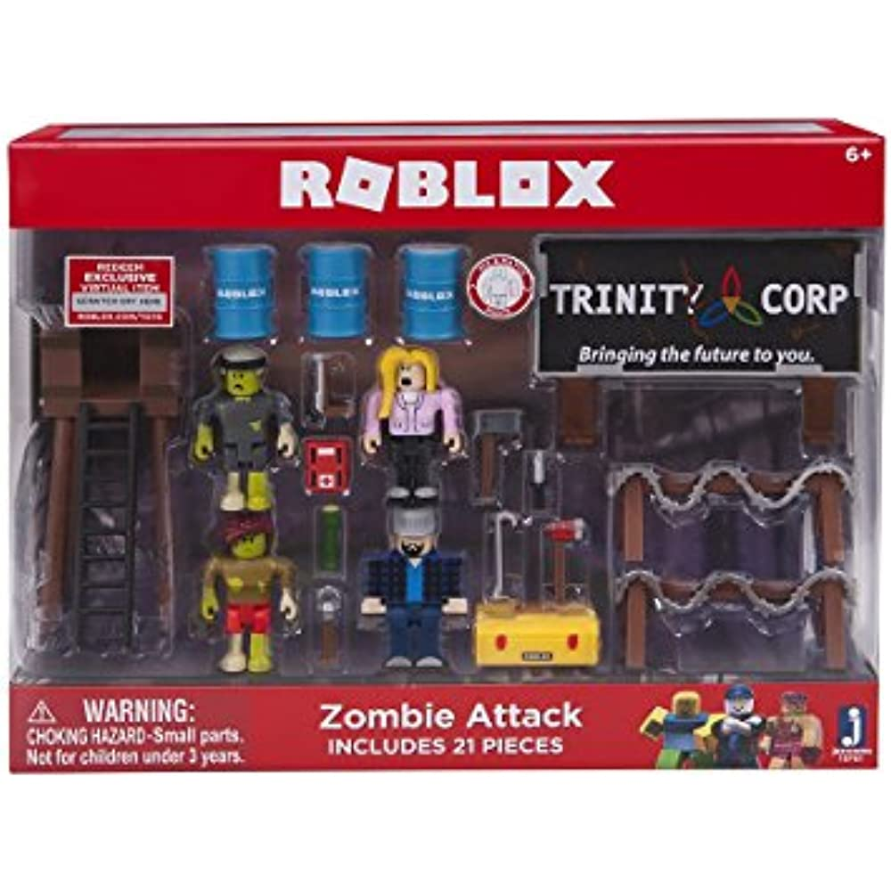 Roblox Zombie Attack Action Figures Playset Kids Toys Xmas Birthday Gifts 21Pcs