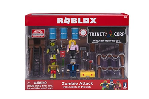 Roblox Zombie Attack Playset]()