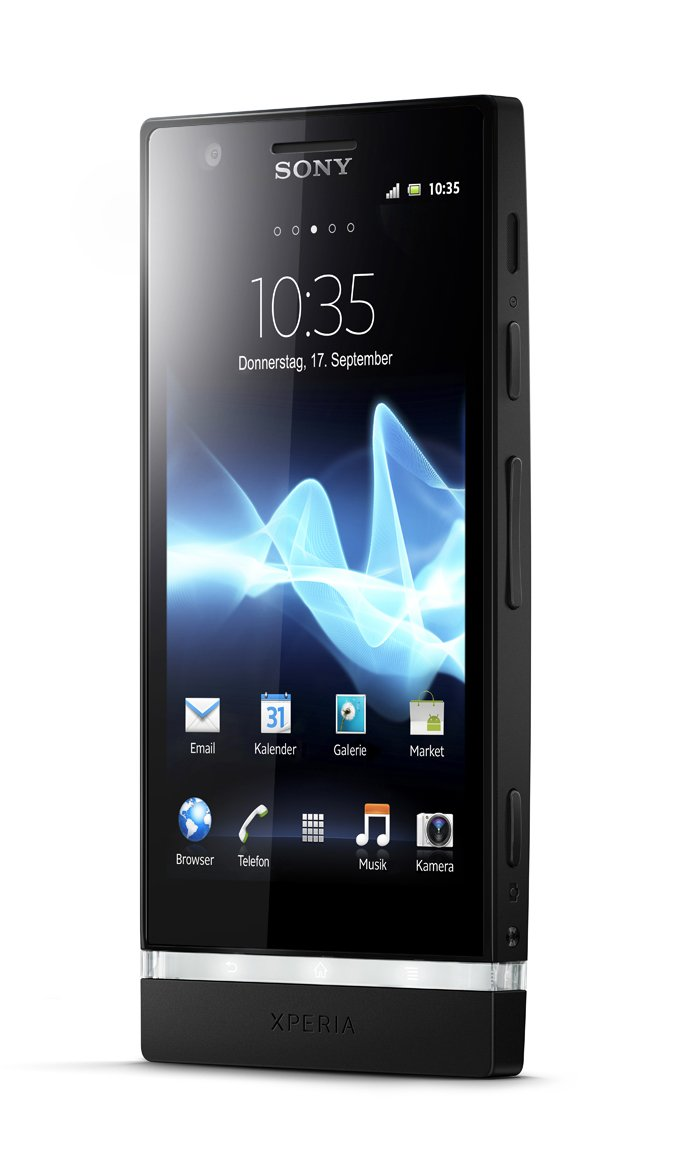 Sony Xperia P Lt 22i 16gb 4.0'' 1.0 ghz 8 mp black Android 2.3 Factory Unlocked Black