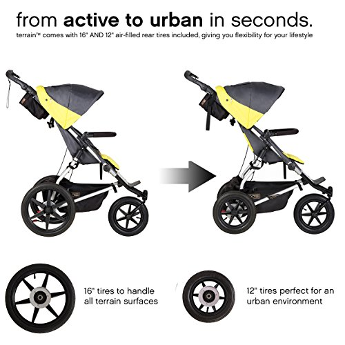 Mountain Buggy Terrain Premium Jogging Stroller, Graphite by Mountain Buggy (Image #3)