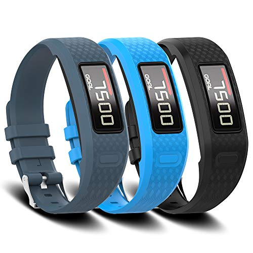 FUNKID Band for Garmin Vivofit 1/2 Smartwatch Wristbands Adjustable Straps Replacement ()