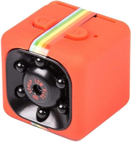 Taille: 960P Couleur: Noir SQ11 Mini Micro HD Cam/éra Dice Vid/éo Vision Nocturne HD 1080 P 960P Cam/éscope Capteur de Mouvement Cam/éra Moniteurs WiFi T/él/écommande /&