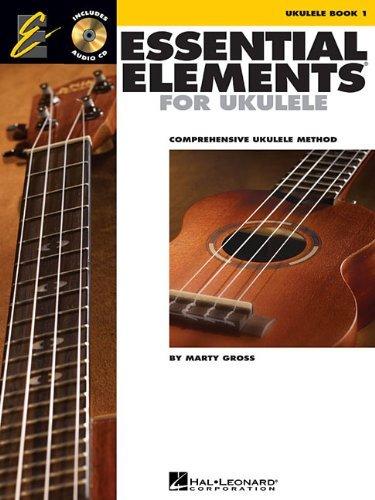 Essential Elements for Ukulele - Method Book 1: Comprehensive Ukulele Method (Ukulele Ensemble) (1 Method Video)