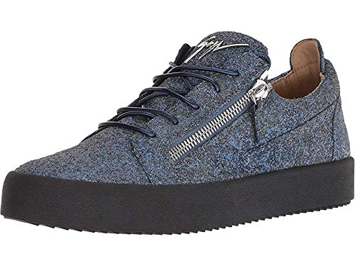 Giuseppe Zanotti Men's May London Glitter Low Top Sneaker, used for sale  Delivered anywhere in USA