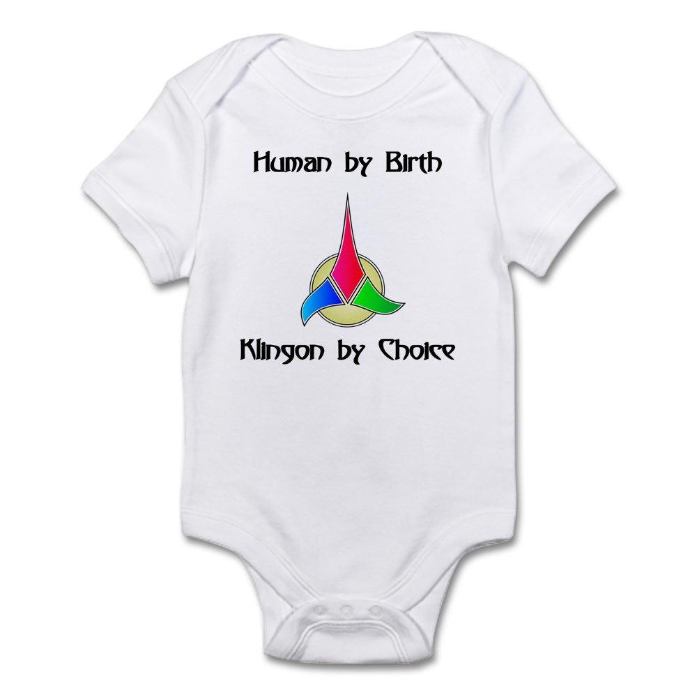Klingon By Choice CafePress Cute Infant Bodysuit Baby Romper