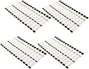 60 Pieces Heat Shrinkable Hunting Targeting Arrow Stickers Wraps 7.68''