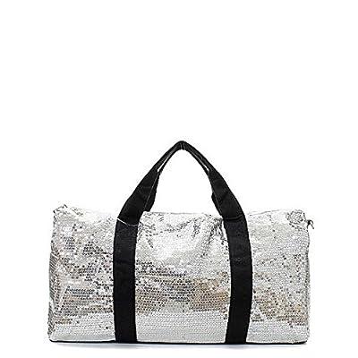 30%OFF Sequin Large Duffel Bag with Adjustable Shoulder Strap