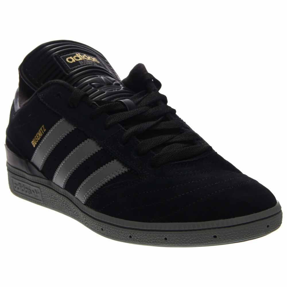 ebb09261693 Galleon - Adidas Busenitz Pro Shoe - Men s Black Solid Grey Gold Metallic  Suede