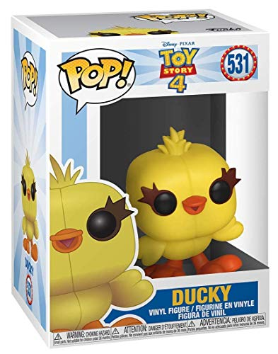 Funko Pop! Disney: Toy Story 4 - Bunny and Ducky Collectible Figures Set of 2 - in Bubble Pouch
