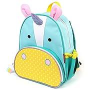 Skip Hop Zoo Insulated Toddler Backpack Eureka Unicorn, 12  School Bag,