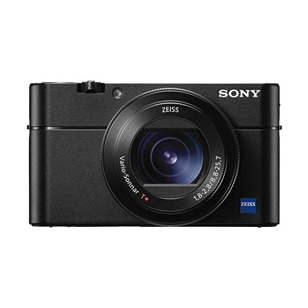 RetinaPix Sony DSC-RX100M5 Advanced Digital Compact Camera (Black) with Free Camera Bag