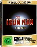 Iron Man Trilogy Limited Edition Steelbook [4K Ultra HD] [Blu-ray]