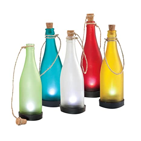 OSALADI Lámpara de Luces LED para Botellas de plástico para ...