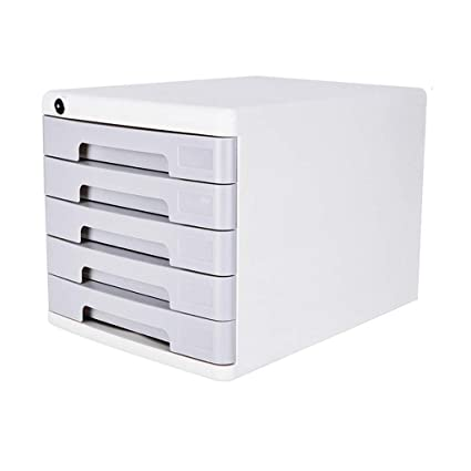 Archivador de archivos QIQIDEDIAN A4 Acabado de Datos Gabinete de Almacenamiento Cajón Tipo Caja de Archivo